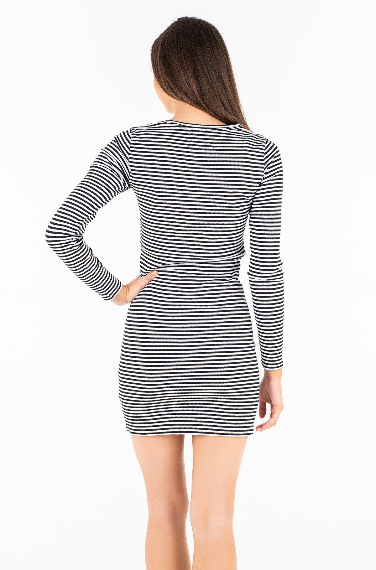 Kleit STRIPED RIB DRESS-full-2