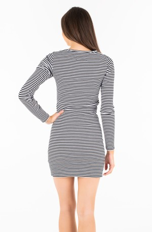 Kleit STRIPED RIB DRESS-2