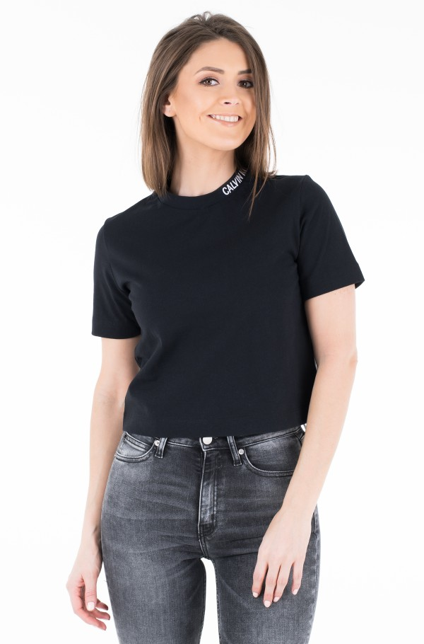 CROPPED SKATER TEE