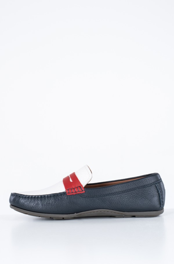 CLASSIC LEATHER PENNY LOAFER-hover