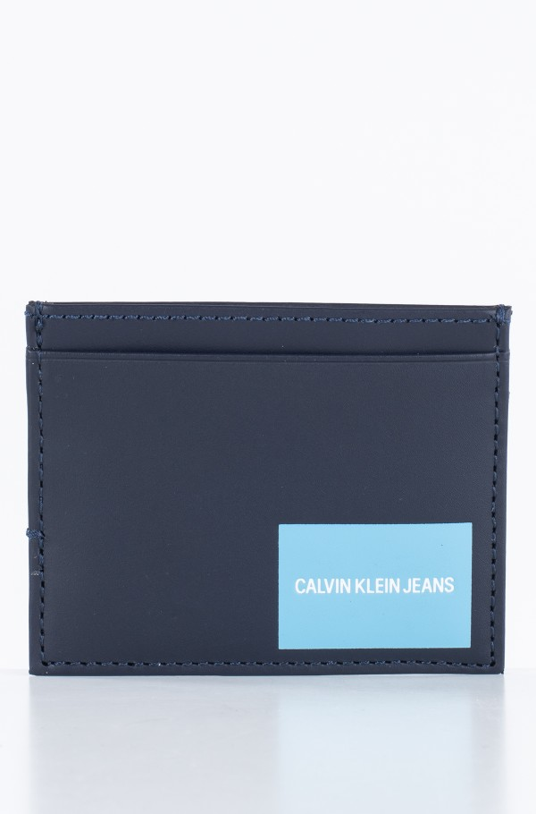 COATED CANVAS CARD CASE