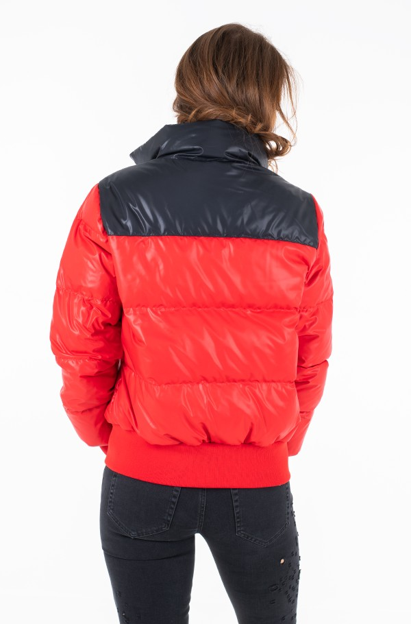 CROPPED DOWN PUFFER JACKET-hover