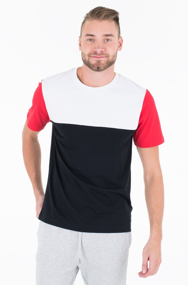 COLOR BLOCKING REG FIT TEE