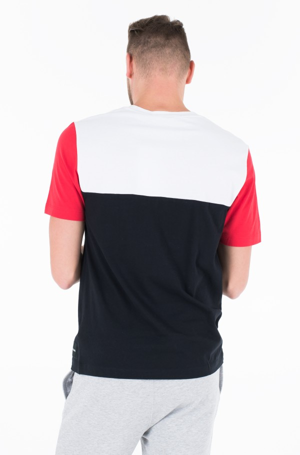 COLOR BLOCKING REG FIT TEE-hover