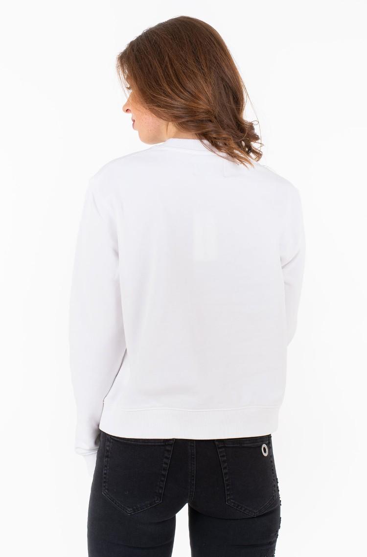 bbc92553f22f White Sweatpants BOXY CN MONOGRAM BADGE Calvin Klein