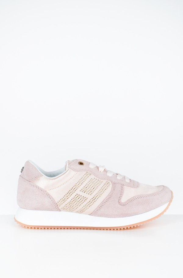 SPARKLE SATIN CITY SNEAKER