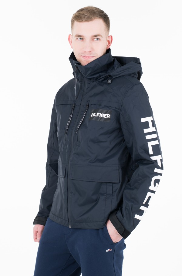 TECH HOODED JACKET