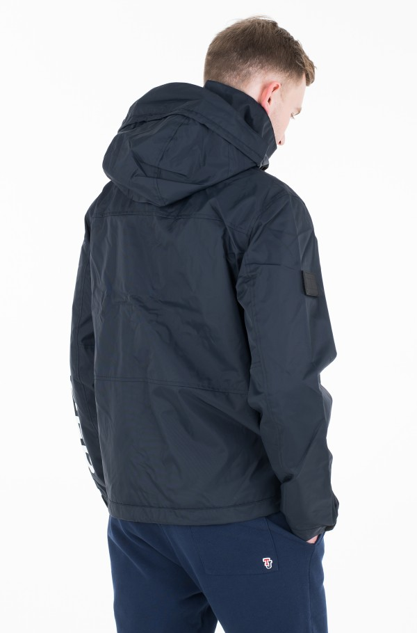 TECH HOODED JACKET-hover