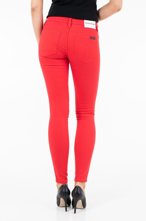 MID RISE SKINNY STRETCH TWILL-hover