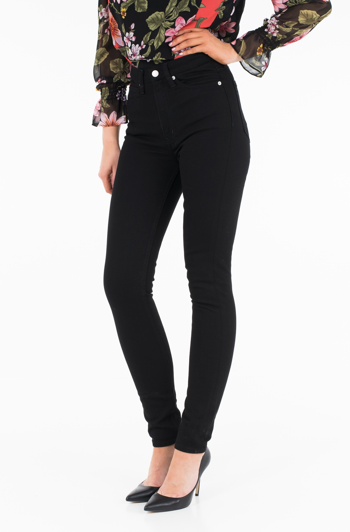 Teksapüksid CKJ 010: High Rise Skinny (West Cut) J20J207765	-full-1
