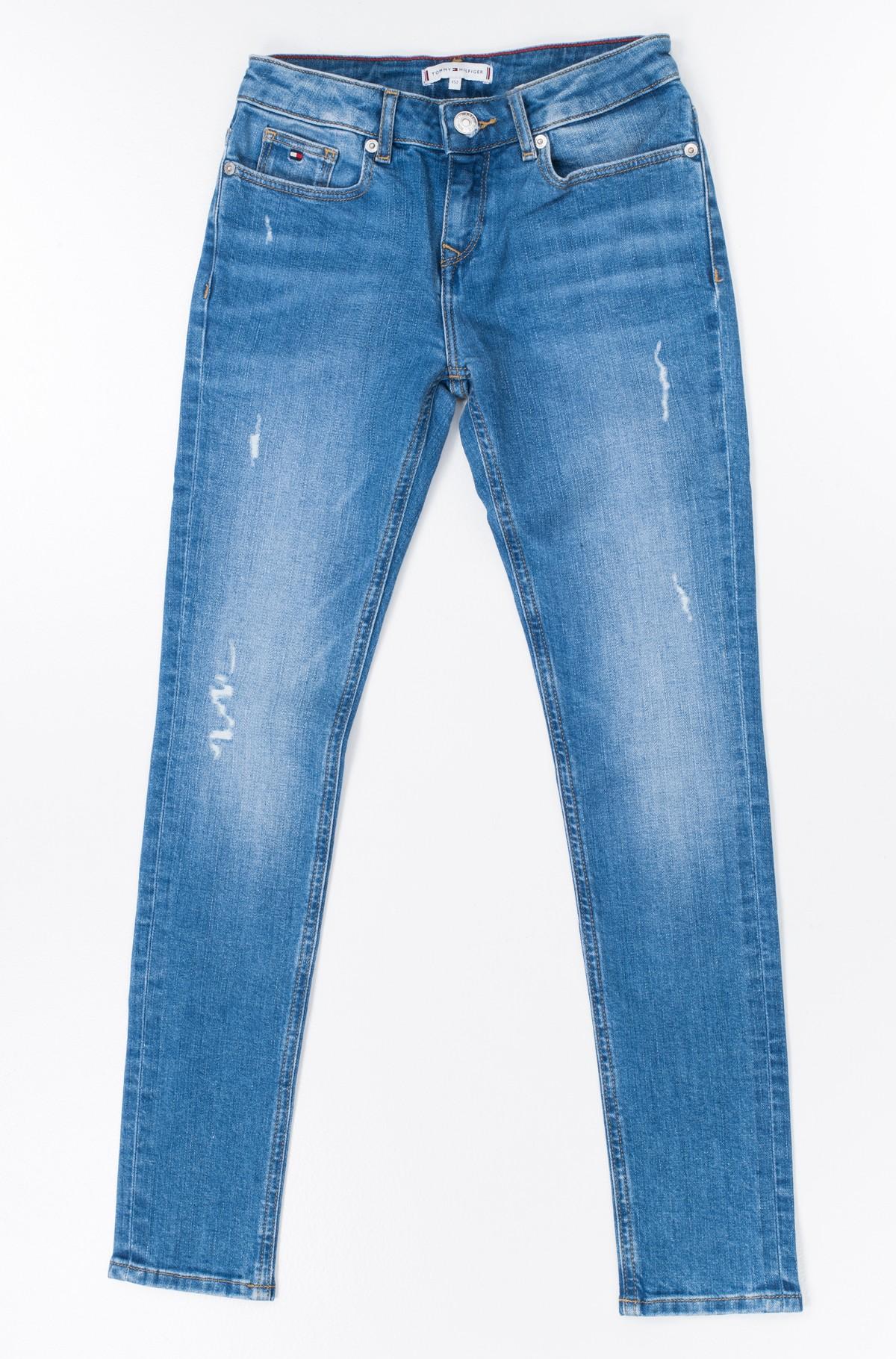 Vaikiškos džinsinės kelnės NORA RR SKINNY ICBDST-full-1