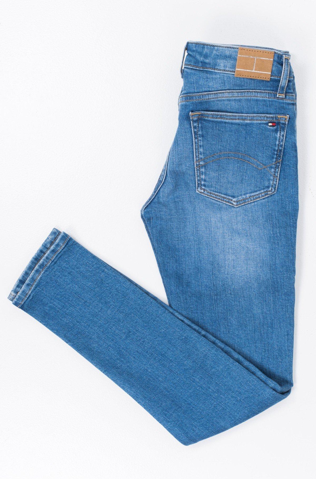 Vaikiškos džinsinės kelnės NORA RR SKINNY ICBDST-full-2