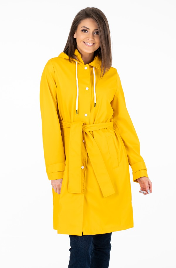 BRITT HOODED TRENCH