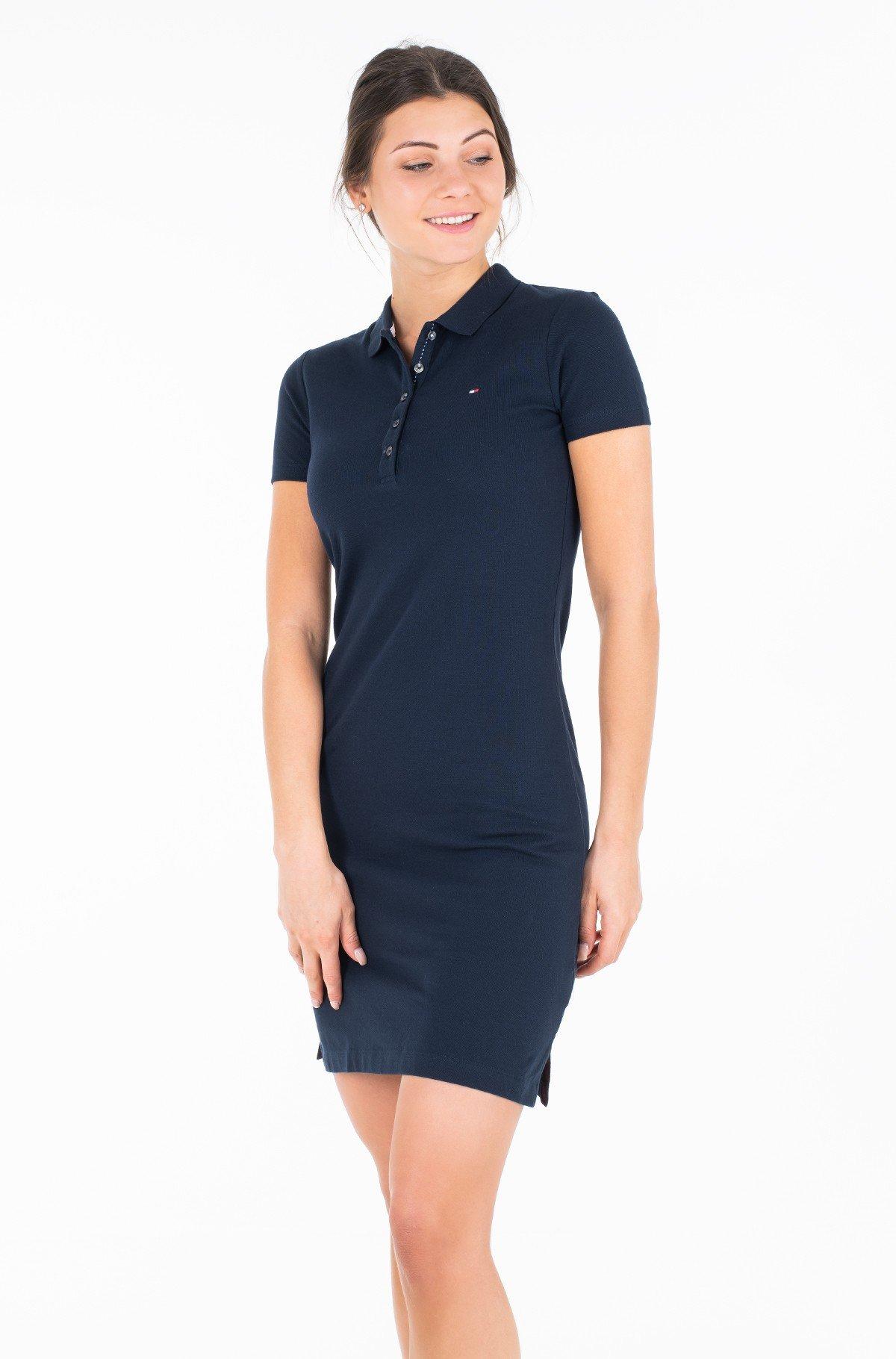 Kleit NEW CHIARA STR PQ POLO DRESS SS-full-1