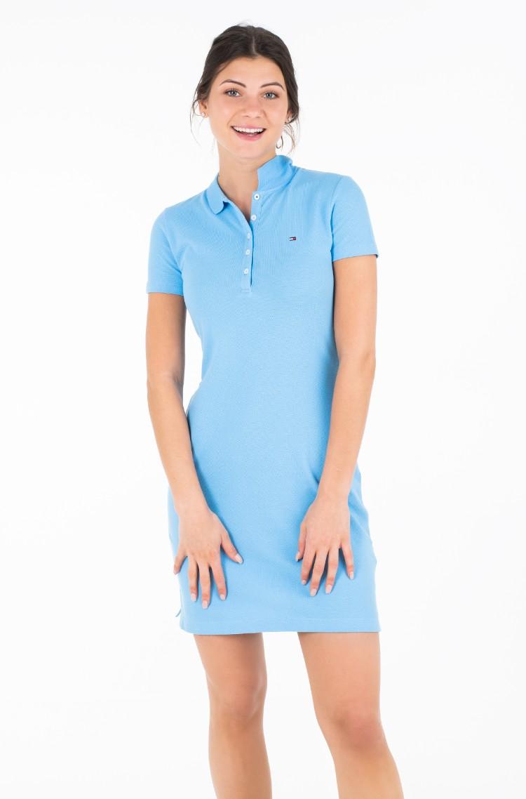 0478caa4b104 Dress NEW CHIARA STR PQ POLO DRESS SS Tommy Hilfiger