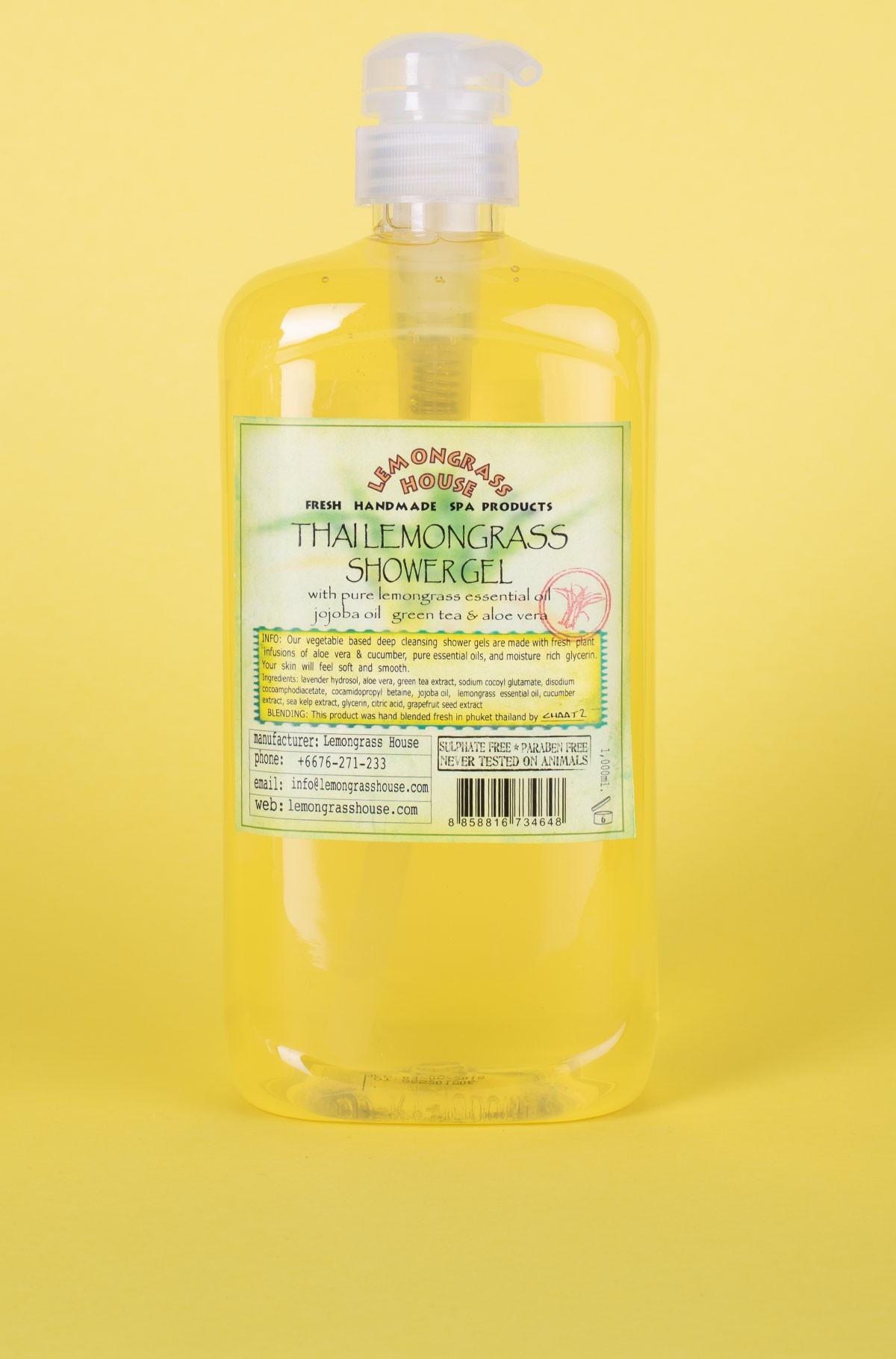 Shower gel Lemongrass 1L-full-1