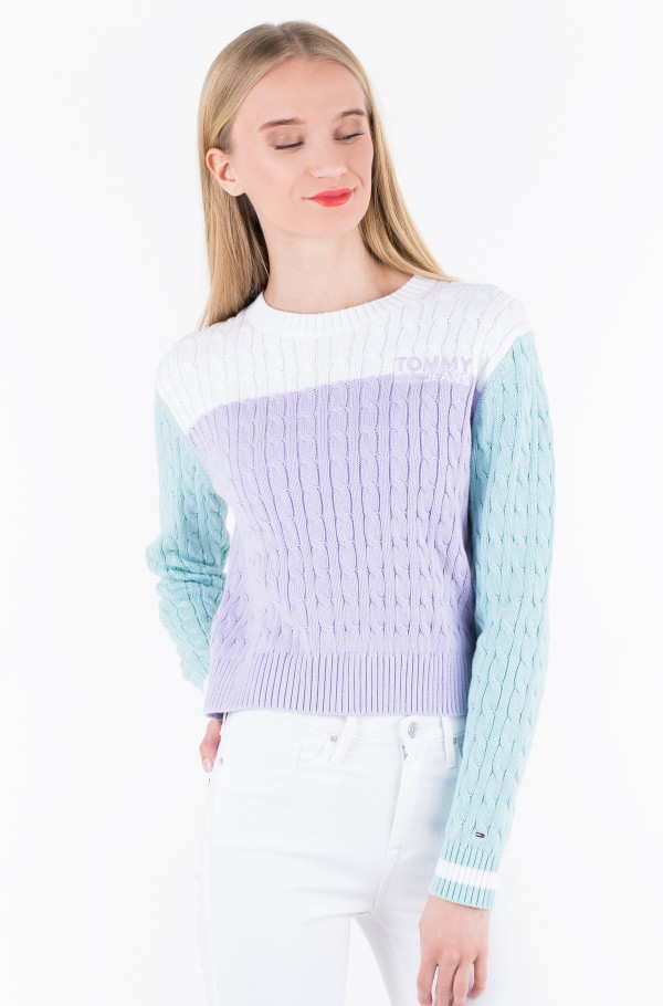 TJW COLORBLOCK SWEATER