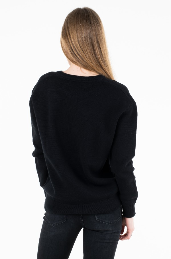 MONOGRAM BOX SWEATER-hover