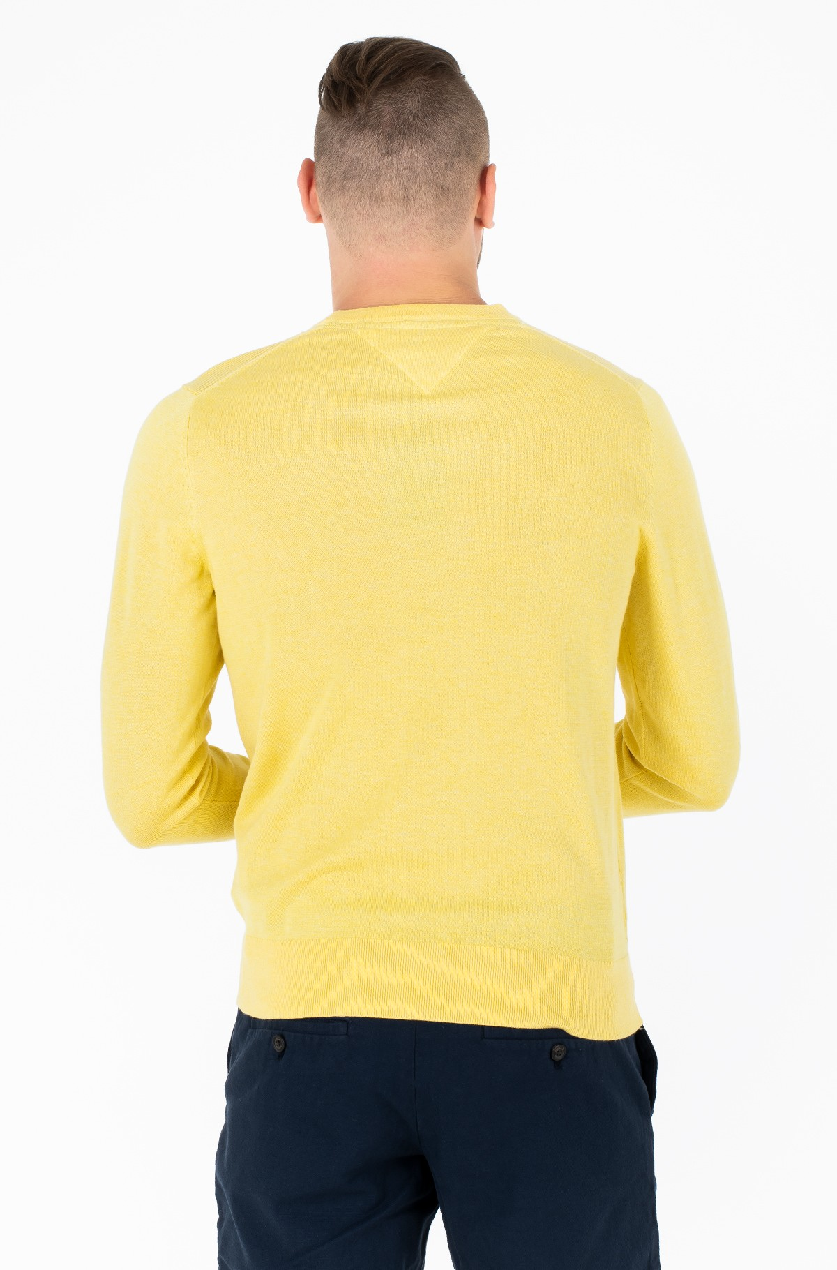 Džemperis COTTON SILK CREW NECK	-full-2