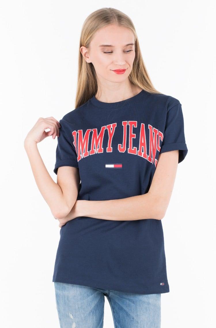 70989ea5f T-shirt TJW COLLEGIATE LOGO TEE Tommy Jeans, Womens Short-sleeve t ...
