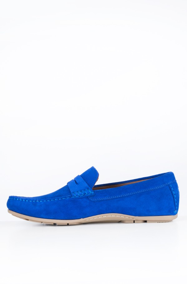 CLASSIC SUEDE PENNY LOAFER-hover