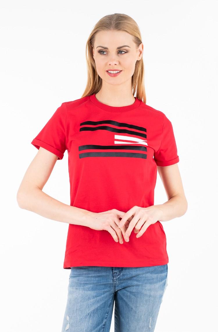 85eb5f9b T-shirt TALITA C-NK TEE SS Tommy Hilfiger, Womens Short-sleeve t ...