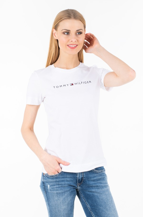 TH ESS HILFIGER CREW NECK TEE SS