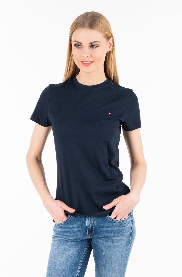 1b6bf35b1 T-shirt HERITAGE CREW NECK TEE Tommy Hilfiger, Womens Short-sleeve t ...