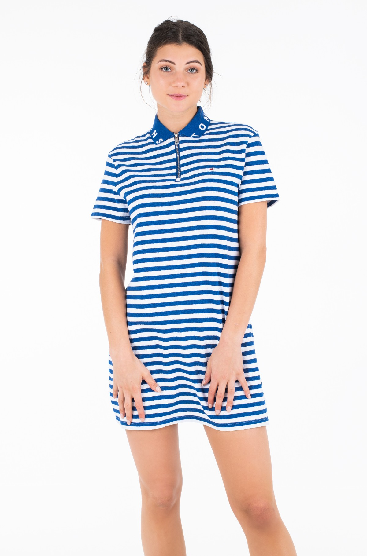 Suknelė TJW ESSENTIAL STRIPE POLO DRESS-full-1