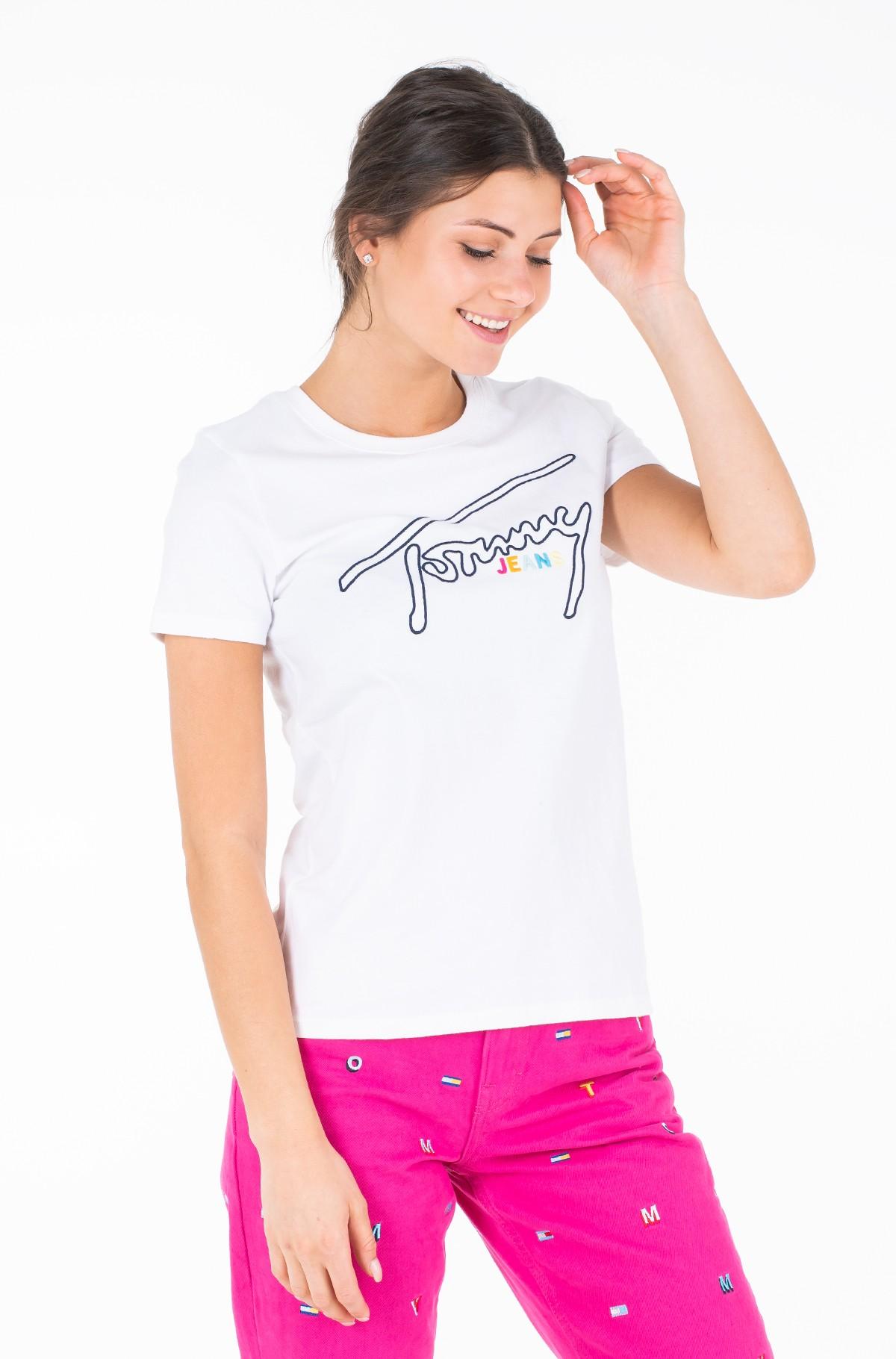 Marškinėliai TJW OUTLINE SIGNATURE TEE-full-1