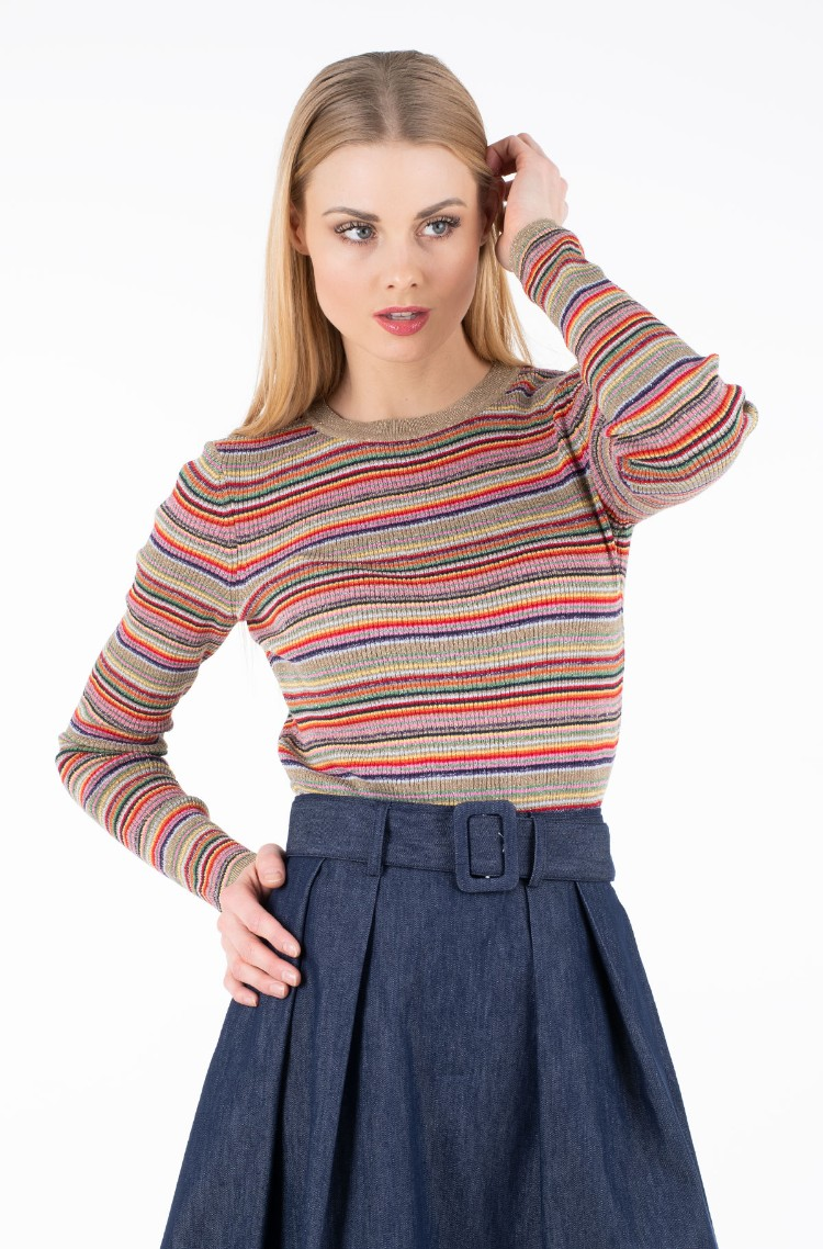 Sweater ZENDAYA MULTI STP LUREX TOP LS119878