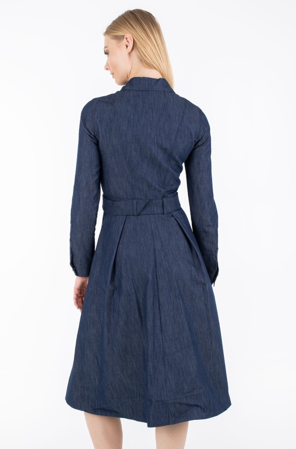 ZENDAYA TAILORED DENIM DRESS-hover