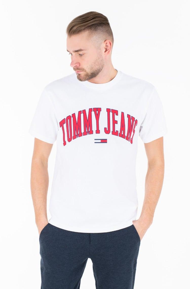 493205ae T-shirt TJM COLLEGIATE LOGO TEE Tommy Jeans, Mens Short-sleeved ...