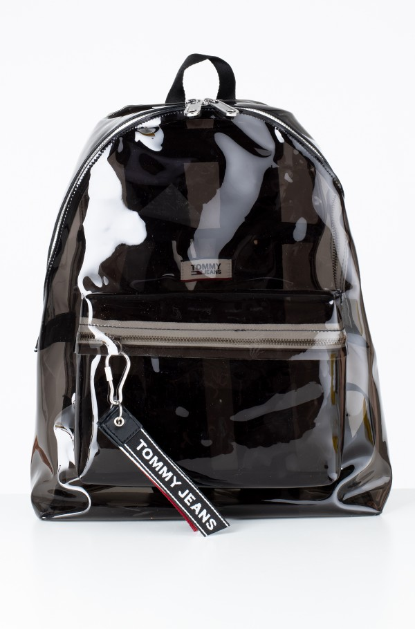 TJU LOGO TAPE BACKPACK TRAN