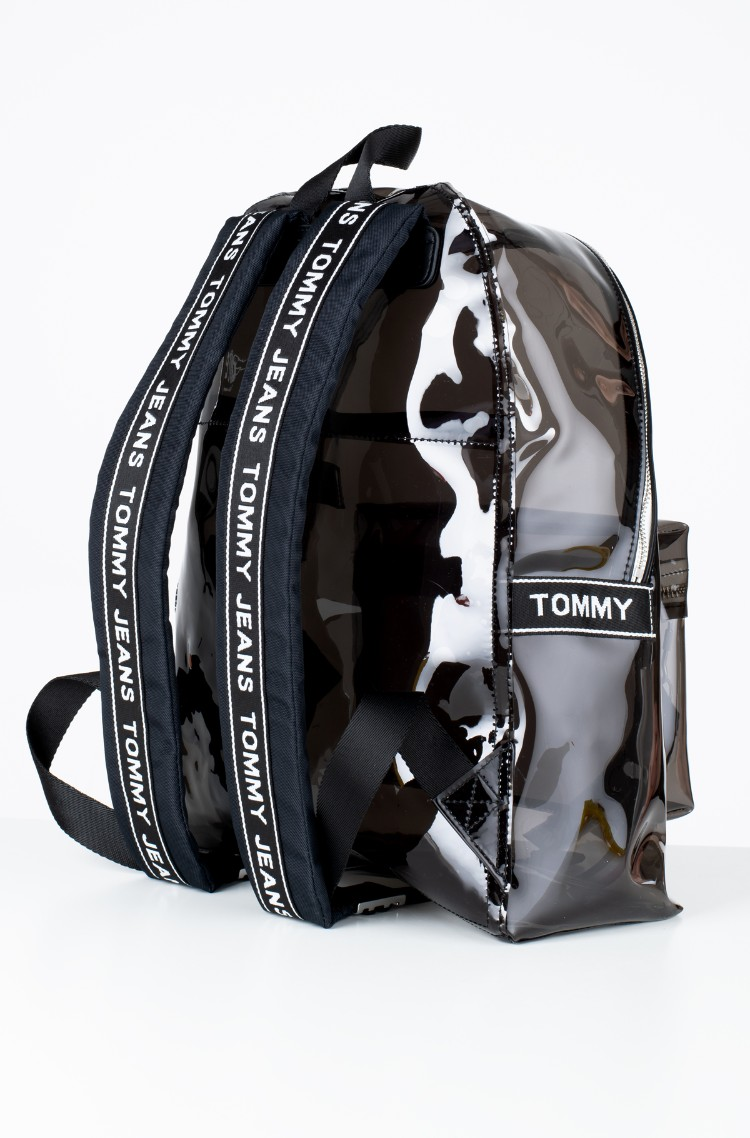 50409174b3e black Backbag TJU LOGO TAPE BACKPACK TRAN Tommy Hilfiger, Womens ...