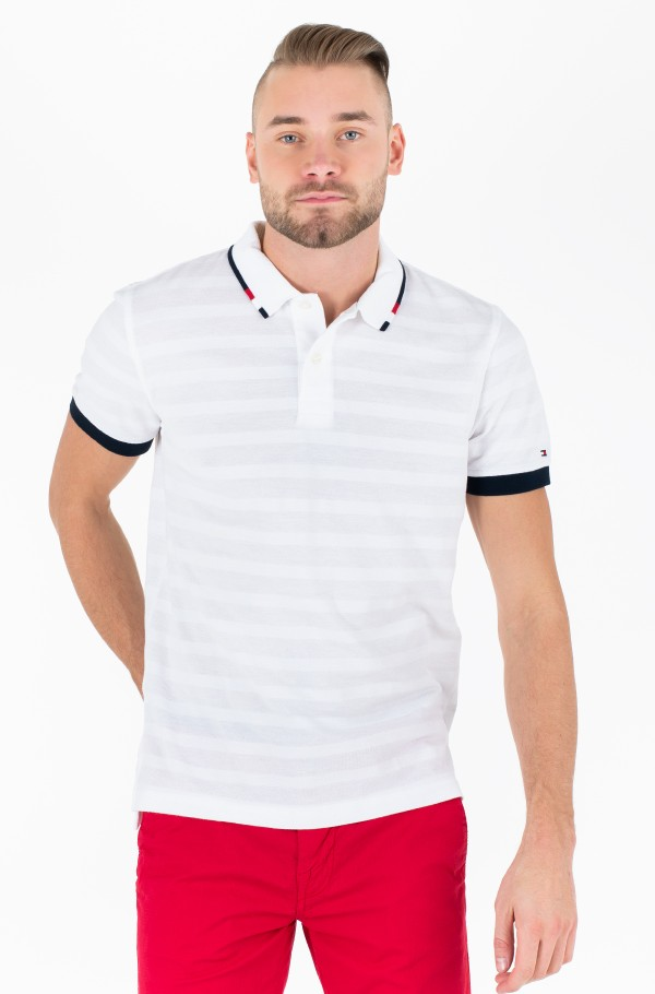 GLOBAL TIPPED COLLAR REG POLO