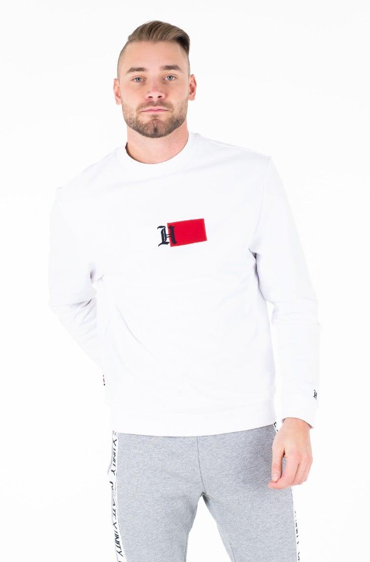 Sporta tērps LH LOGO RIB CREWNECK SWEATSHIRT-1