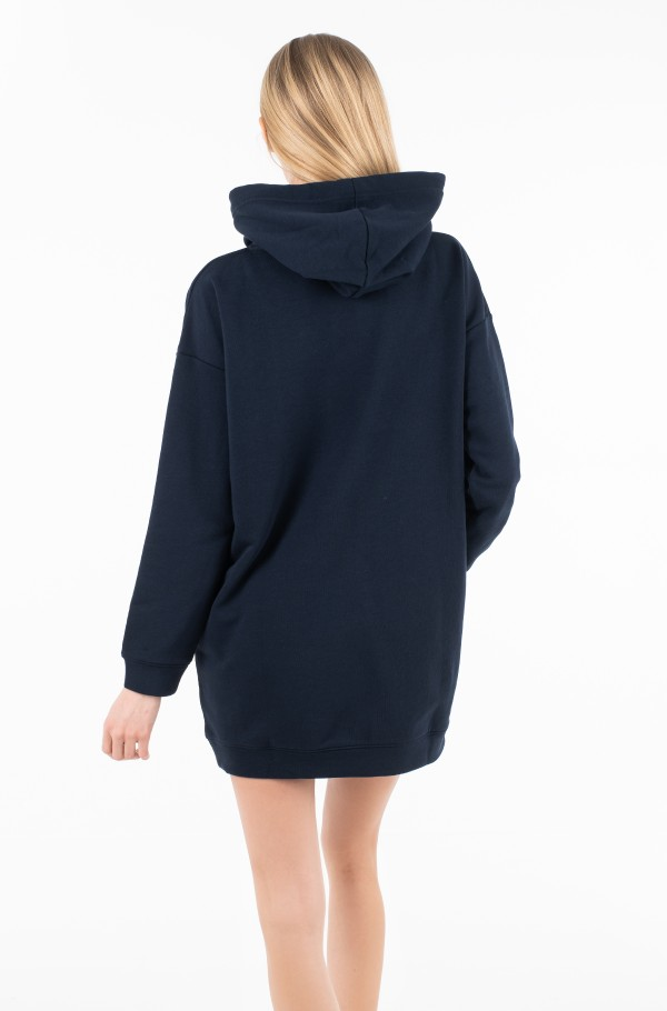 TRACY HOODED DRESS-hover