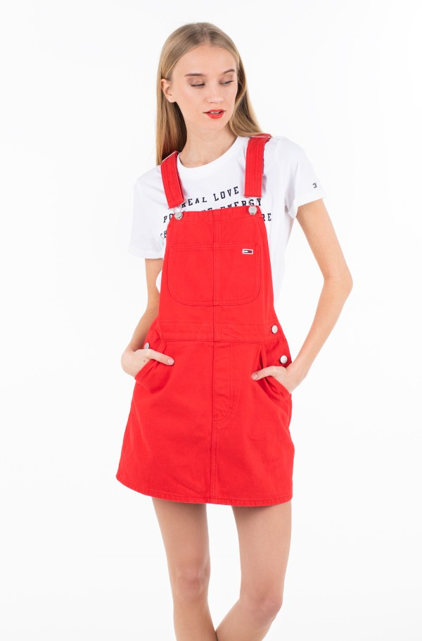 CLASSIC DUNGAREE DRESS FLSCTR