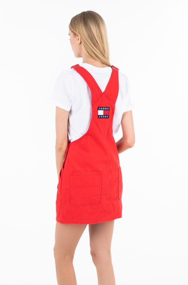 CLASSIC DUNGAREE DRESS FLSCTR-hover