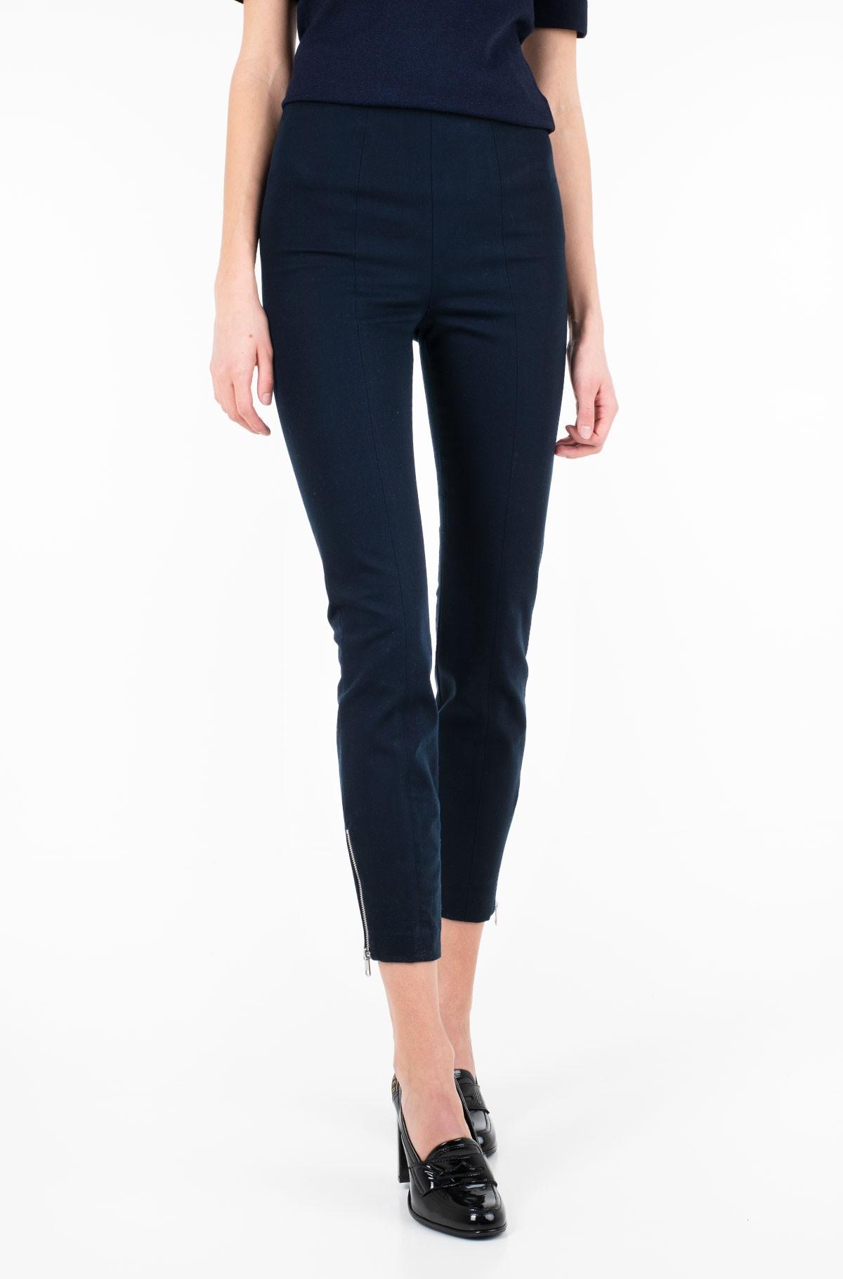 Džinsinės kelnės TH ESSENTIAL HW ANKLE LEGGING-full-1