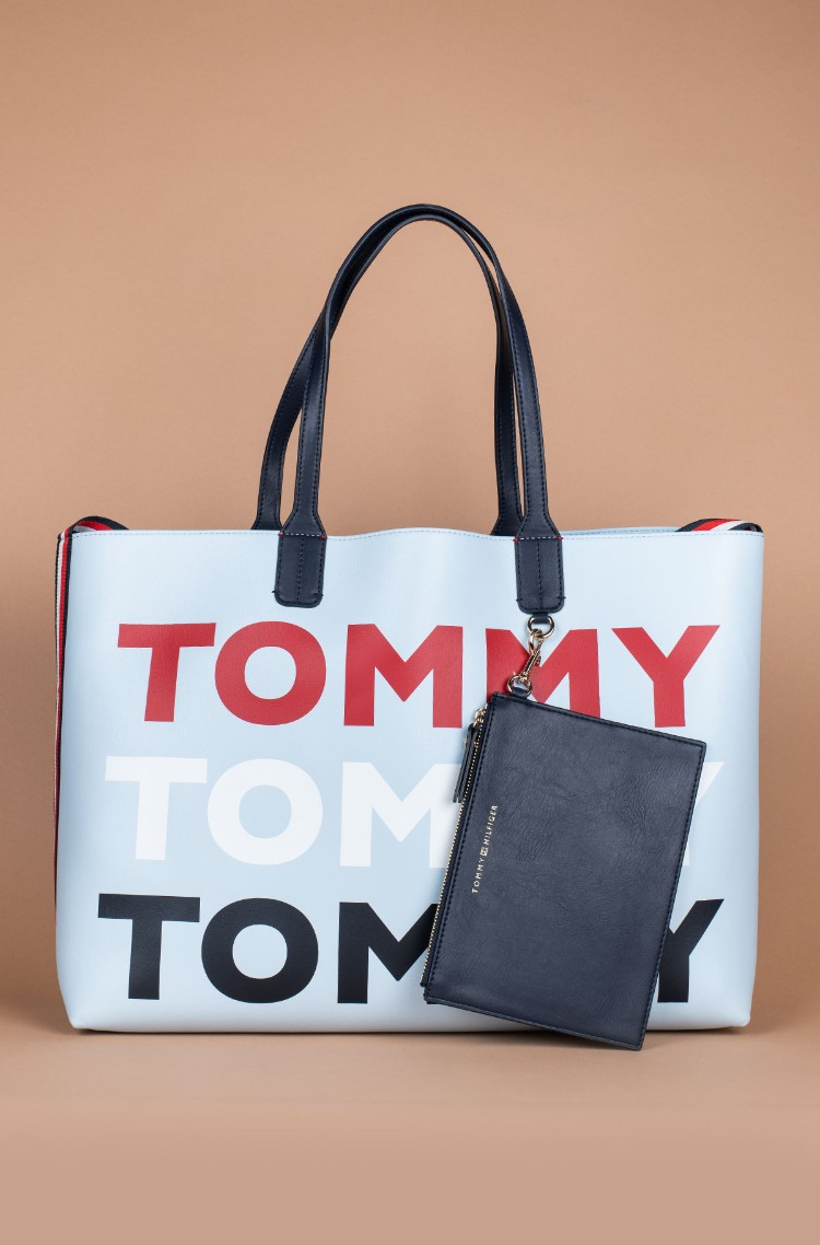 3db173916a Handbag ICONIC TOMMY TOTE Tommy Hilfiger, Womens Handbags | Denim ...