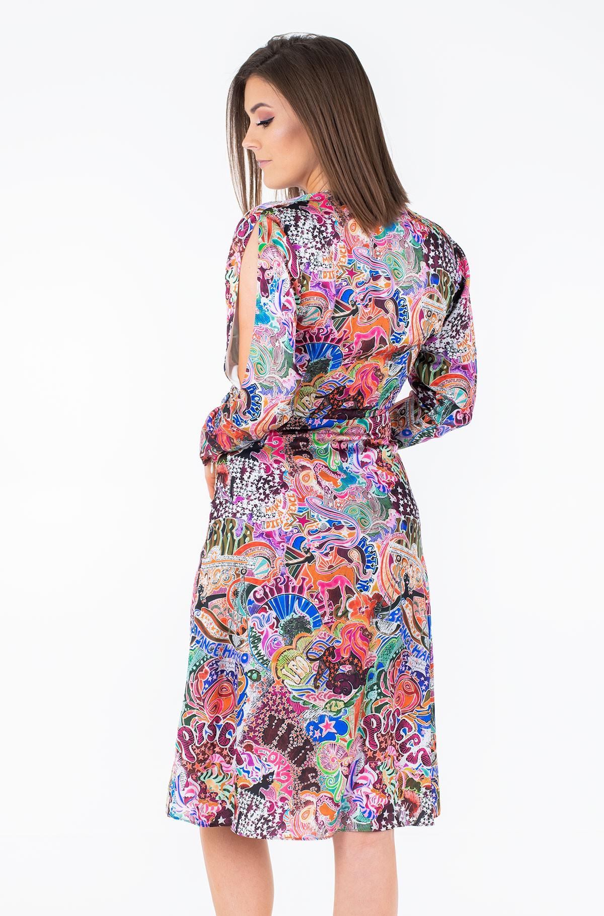 Suknelė ZENDAYA WRAP DRESS LS-full-2
