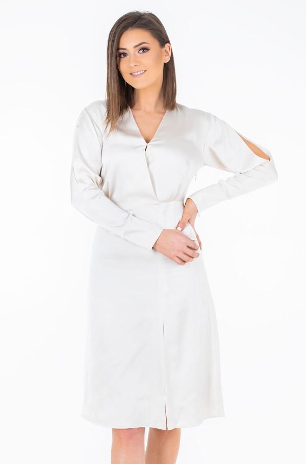 ZENDAYA WRAP DRESS LS