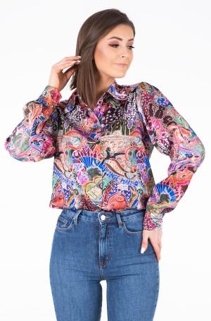 Shirt ZENDAYA SATIN SHIRT LS-1
