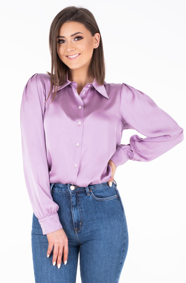 ZENDAYA SATIN SHIRT LS