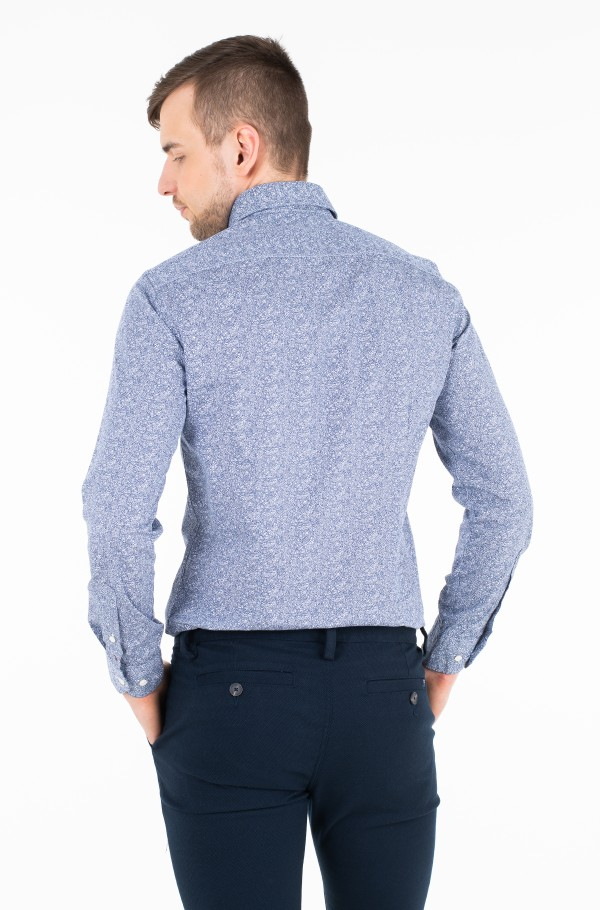 WASHED CLASSIC SLIM SHIRT-hover
