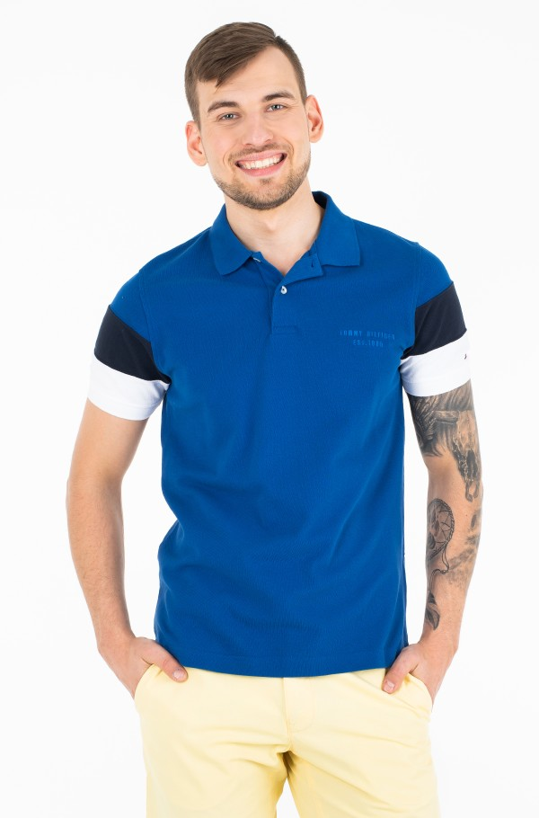 CNS SLEEVE COLORBLOCK SLIM POLO