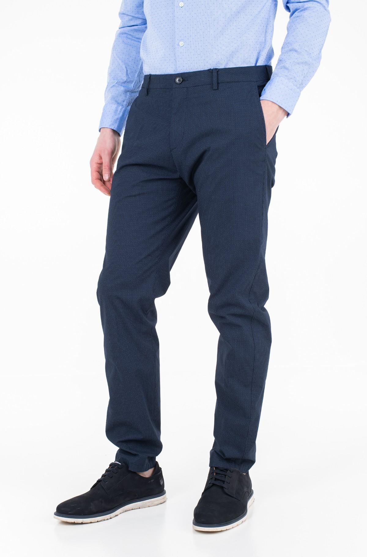 Trousers MINI PRINT SLIM FIT PANTS-full-1