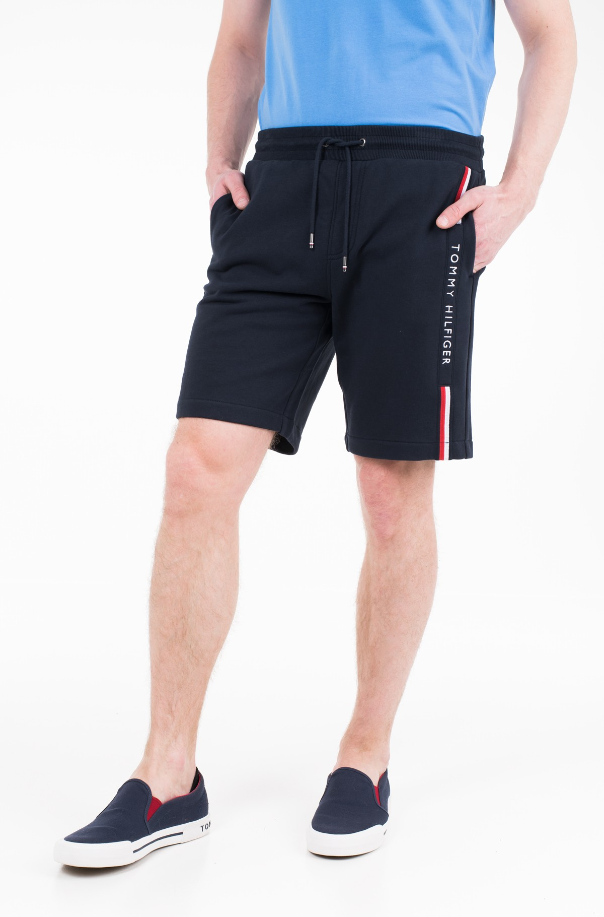 Šortai BASIC BRANDED SWEATSHORT	-full-1